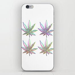Cannabis Rainbow Design (75) iPhone Skin