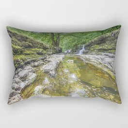 Four falls walk waterfall 2 Rectangular Pillow