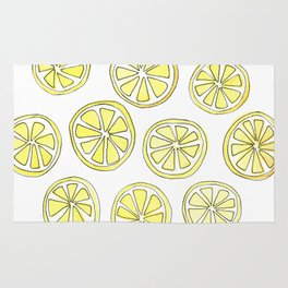 Lemon Slices Rug