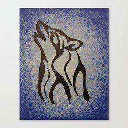 Wolf Spirit 2. Canvas Print