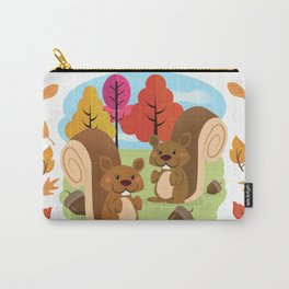 Let The Acorns Fall Carry-All Pouch
