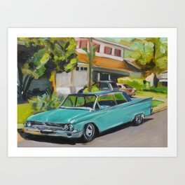 Awesome Old Ford Art Print