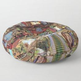 The Museum Shelf Floor Pillow