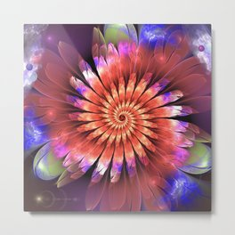 Floral magic Metal Print