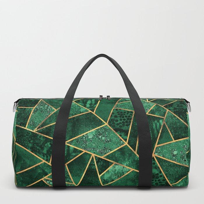 Deep Emerald Duffle Bag