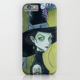 Kiss My Rainbow iPhone Case