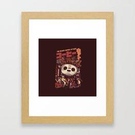 Black magic coffee Framed Art Print