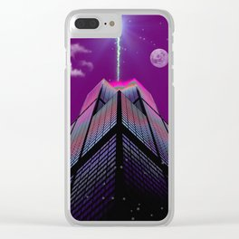 Portals Clear iPhone Case
