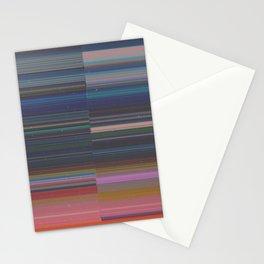 scanner stripes Stationery Cards
