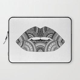 Lips Zendoodle Laptop Sleeve