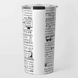 modern mamafesto  Travel Mug