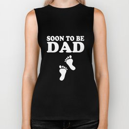 soon to be dad t-shirts Biker Tank