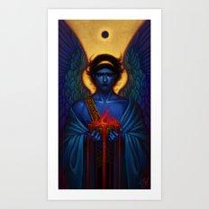 Angel (untitled) Art Print