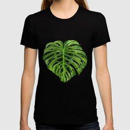 Jungle Leaf Monstera Deliciosa T-shirt