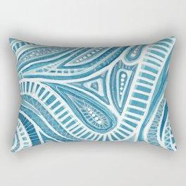 Thinking of Greece Rectangular Pillow