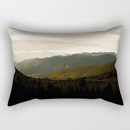 Mountains in British Columbia Rectangular Pillow