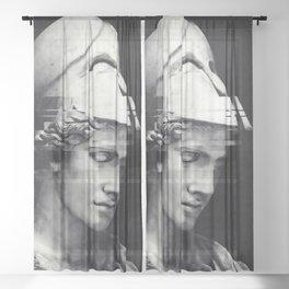 Pallas Athena Sheer Curtain