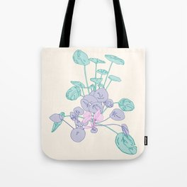 Peachy Pileas Tote Bag