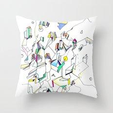 Tumult Throw Pillow
