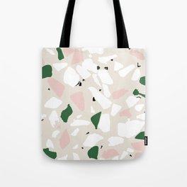 Terrazzo jungle Tote Bag