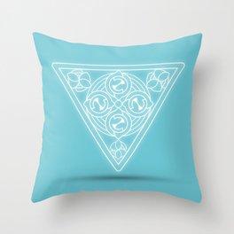 Water element Throw Pillow