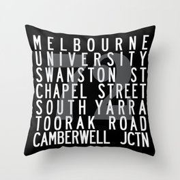 TRAM 72 Throw Pillow