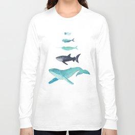 Ocean collection: Deep under the sea Long Sleeve T-shirt