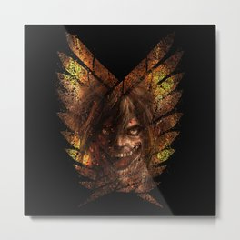 The Survey Titan Metal Print