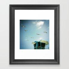 FLYING V, CARLSBAD, CA Framed Art Print