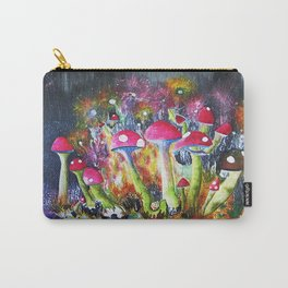 Who loves Mushrooms? Carry-All Pouch