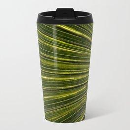 Green Palm Poetry Travel Mug