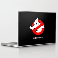 ghostbusters Laptop & iPad Skins featuring Ghostbusters by IIIIHiveIIII
