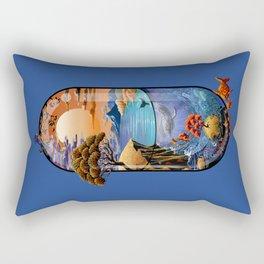 Nature is medicine Rectangular Pillow