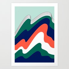 NOW YOU SEE ME Art Print