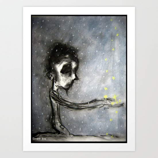 Soot And Stars Art Print