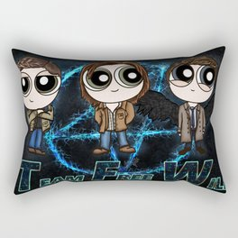 Team Free Will for life Rectangular Pillow