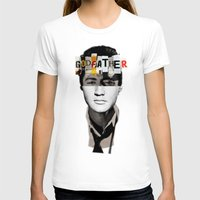 godfather T-shirts featuring Godfather Mix 2 white by Marko Köppe