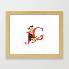 Jorge González Framed Art Print