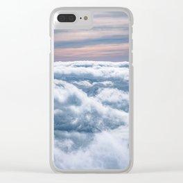 Cloudtop District Clear iPhone Case