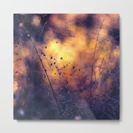 The City of Fireflies Metal Print