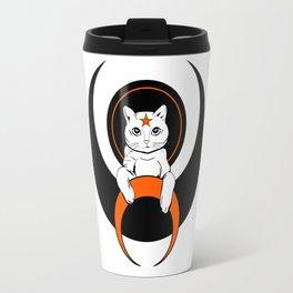Cat from moon Travel Mug
