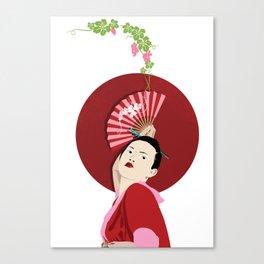 Japanese Wines Canvas Print