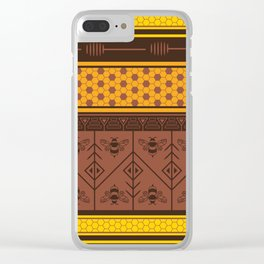 Waxing Poetic Clear iPhone Case