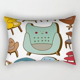 Scandi chic Rectangular Pillow