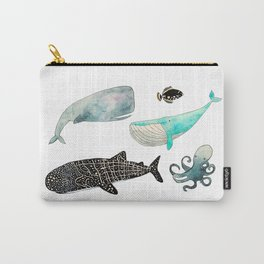 Whales and friends Carry-All Pouch