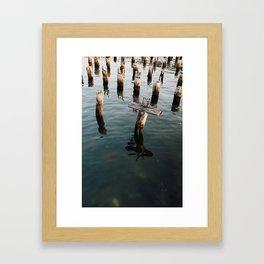 Summer Shades (Boston) Framed Art Print