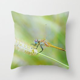 Traces of Spring Throw Pillow