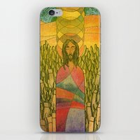 jesus iPhone & iPod Skins featuring Jesus by Eugene Frost