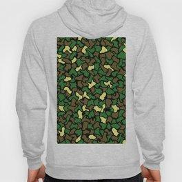 Camouflage Wobble Tile Pattern Hoody
