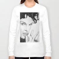 prince Long Sleeve T-shirts featuring PRINCE by ART FEEDS HUNGER